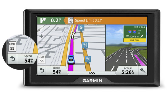 E-Cruise Dynamic Speed Limiter (DSL) for Garmin Navigators
